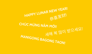 Different ways to say Happy Lunar New Year.