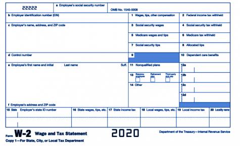 A tax form.