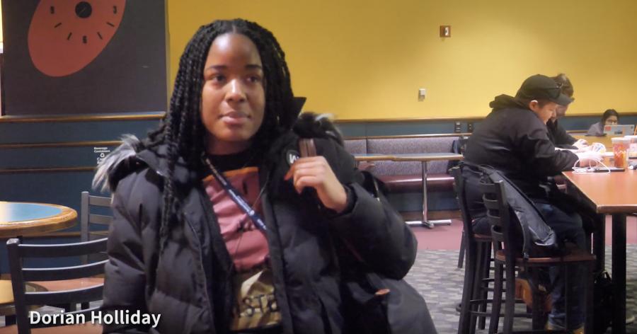 Northeastern students talk about the coronavirus pandemic.