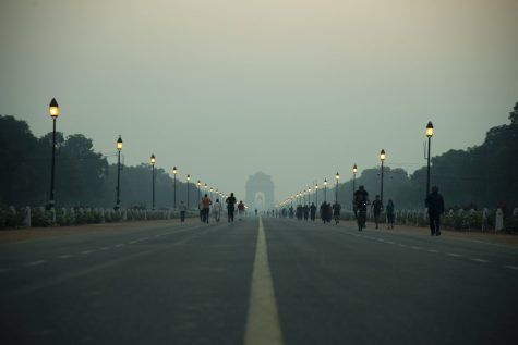 The India Gate without pollution.