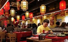 People have dinner in a hot pot restaurant as usual in China Featured Photo by Yunjia Hou Oct.7,2020. Photo credit: Yunjia Hou